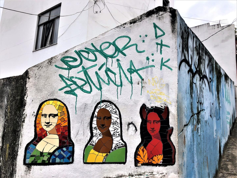 Escadaria Selarón Mural (Brazil)