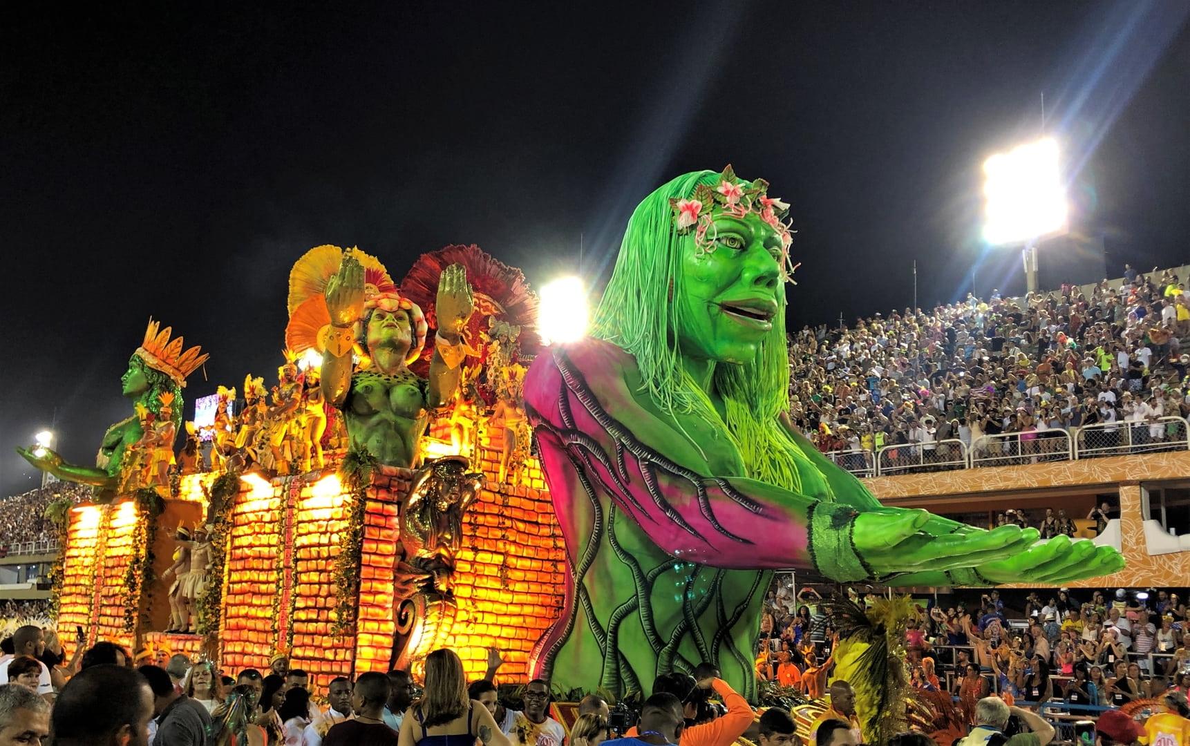 Sambadrome Procession (Brazil)
